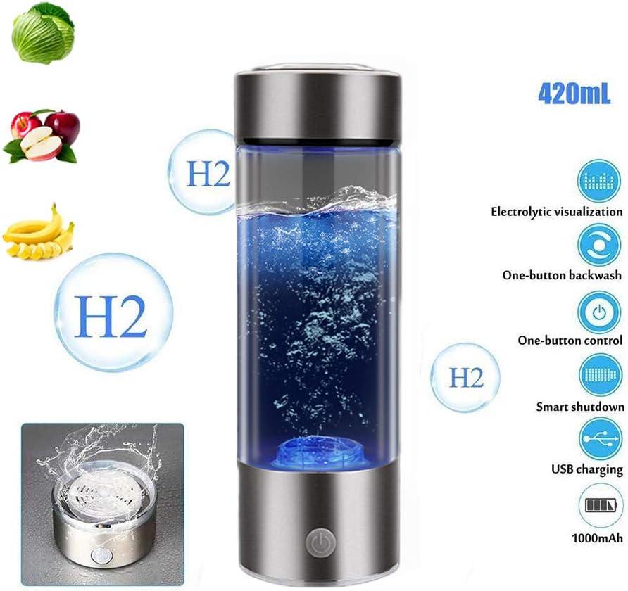 Hydrogen Generator Cup Water Filter 430ML Alkaline Maker Hydrogen-Rich Water