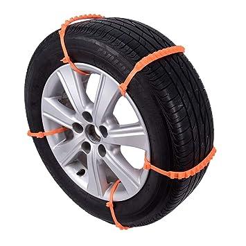 10PCS / Set Universal Antideslizante de Neumáticos de Invierno Diseño plástico del Coche SUV Cadenas de Nieve Ruedas Durable Cadenas Car-Styling Nieve: ...