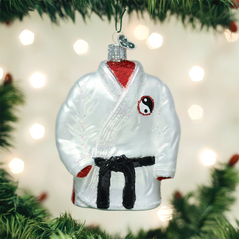 Old World Christmas Martial Arts Robe Glass Blown Ornament by Old World Christmas (Image #3)