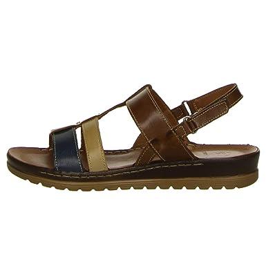 30868bbeeff2c Salamander Damen Sandalen Größe 42 EU Braun (braun): Amazon.de ...