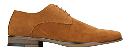 trouver le travail produits chauds choisir véritable Chaussures Homme Daim Nubuck à Lacets Style Décontracté Chic Bleu Marine  Noir Brun