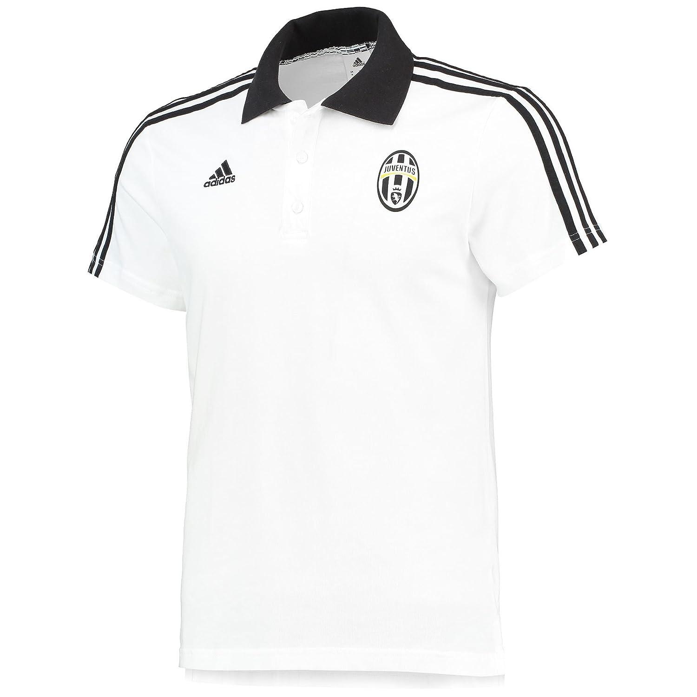 adidas Juventus 2015-2016 3S Core-Polo Shirt () White Blanco Talla ...
