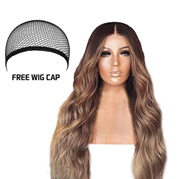 Amazon Com Pro Elegant Gradient Blonde Mixing Wigs Long