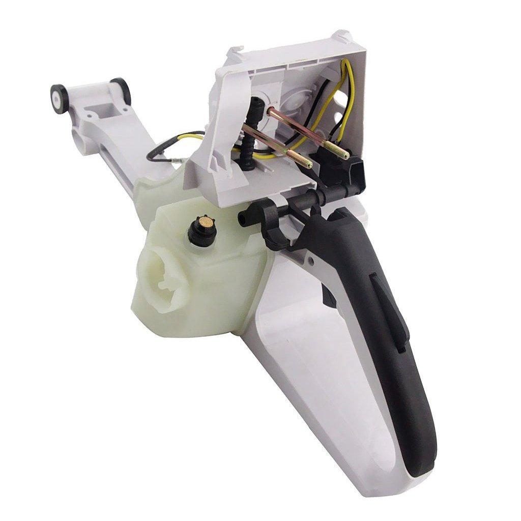 joyMerit Manija Trasera Pl/ástica del Tanque De Gas Combustible para Motosierras STIHL MS341 361 Nuevo