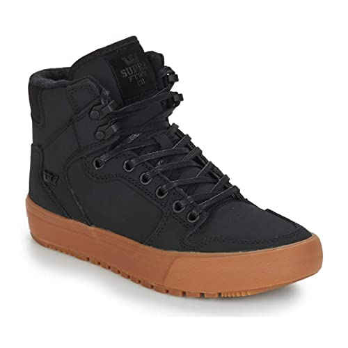 Supra Mens Vaider Cold Weather Black Black Gum Shoes Size  Amazon.ca ... 19c0c5c7a772