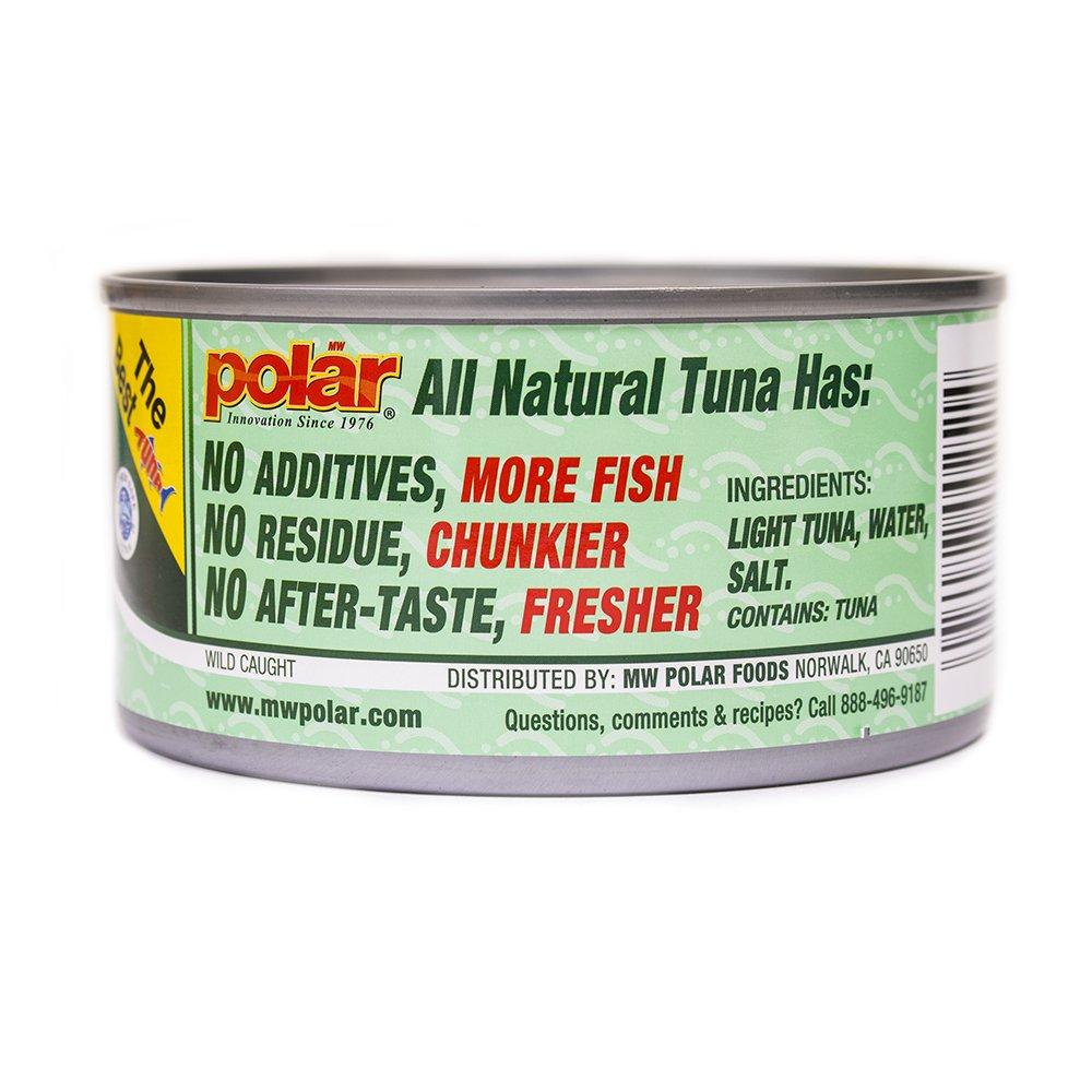 MW Polar Tuna, All Natural Chunk Light Tuna, 12-Ounce by MW Polar (Image #8)