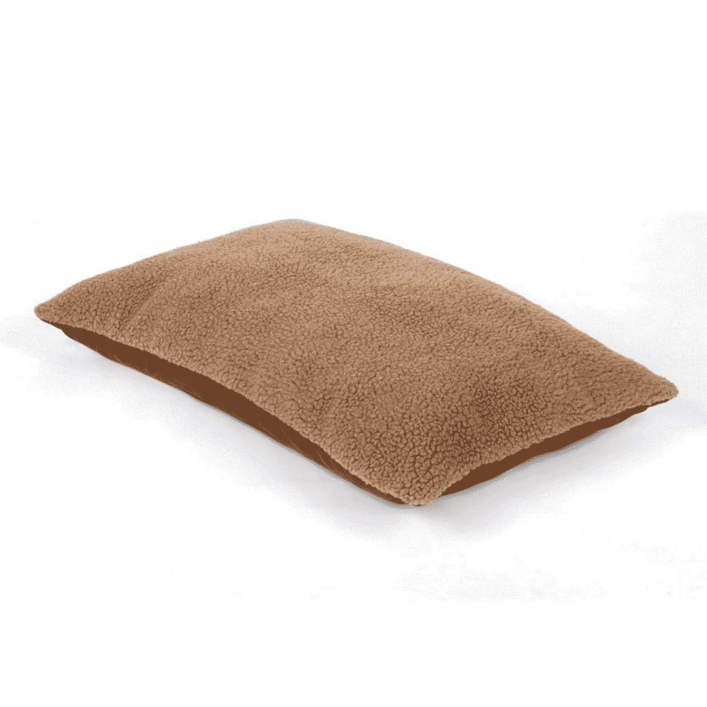 M Pet bed FJH Dog Mat Autumn And Winter Models Removable And Washable Large Dog Dog Mat Thickening Universal Cotton Pad (Size   M)