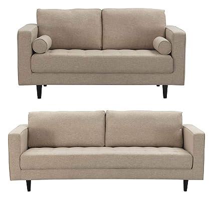 Fine Amazon Com Manhattan Comfort 2 9823Hl4 Arthur Modern Tweed Onthecornerstone Fun Painted Chair Ideas Images Onthecornerstoneorg