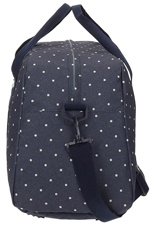 Pepe Jeans Denim Dots Sac de voyage, 55 cm, 29.7 liters, Bleu (Azul)