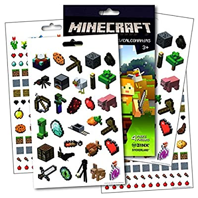 Minecraft Stickers ~ Over 295 Minecraft Fun Stickers by Trends