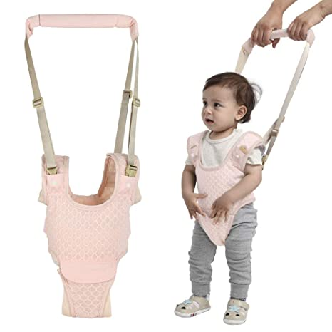 Baby Walking Assistant Toddler Walking Harness Handle Baby Walker by Autbye 4 In 1 Functional Safety Walking Walker Harness for Baby 7-24 Month Blue Standing Up and Walking Learning Helper for Baby