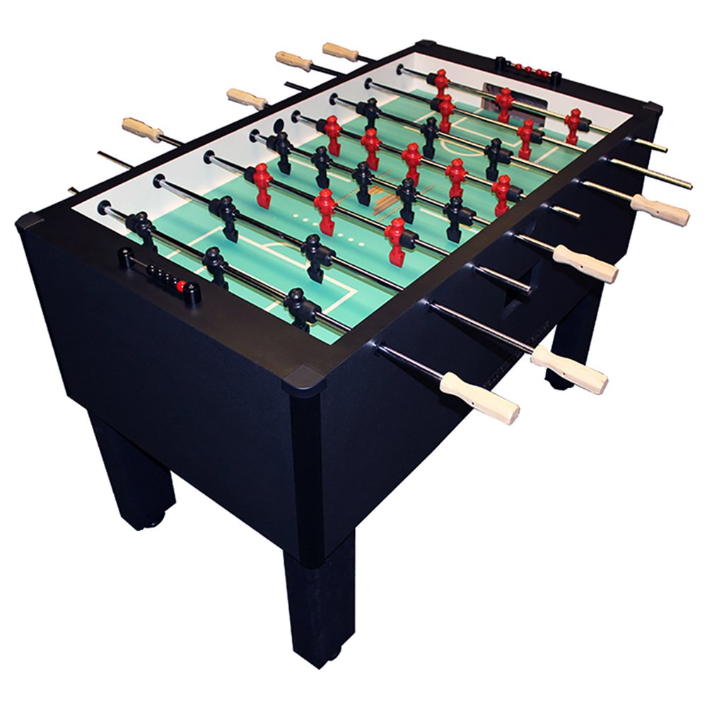 Gold Standard Home Pro Charcoal Foosball - Chrome & Wood