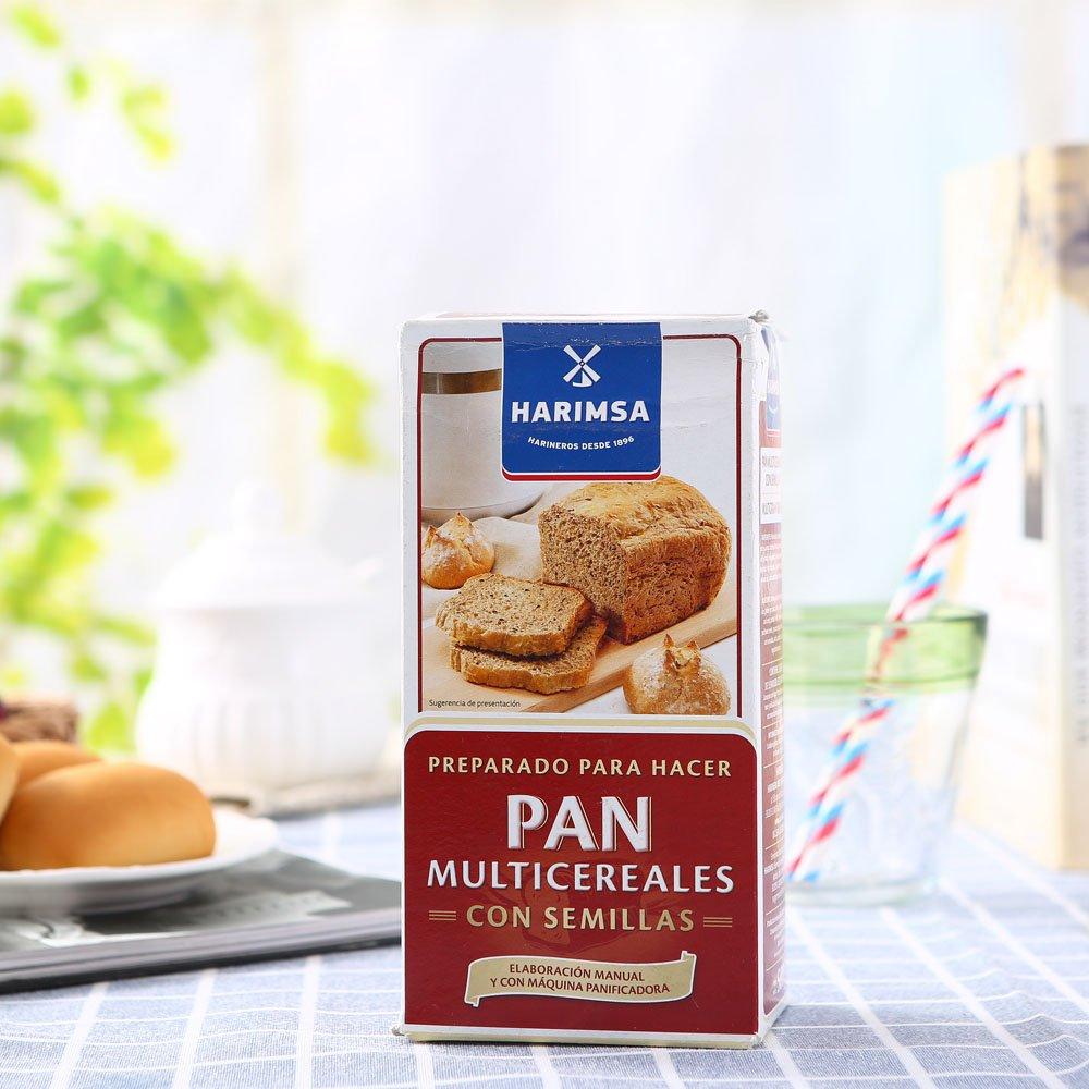 Preparado Para Hacer Pan Con Multicereales Con Semillas Harimsa 500G.: Amazon.es: Alimentación y bebidas