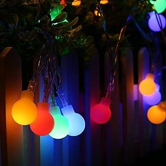 InnooTech 4M 40er LED Lichterkette Batteriebetrieben Globe Glühbirne Innen  Außen Beleuchtung Deko Für Garten, Wohnungen