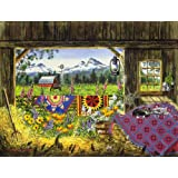 Hole in the Barn Door 500 Piece Jigsaw Puzzle by SunsOut
