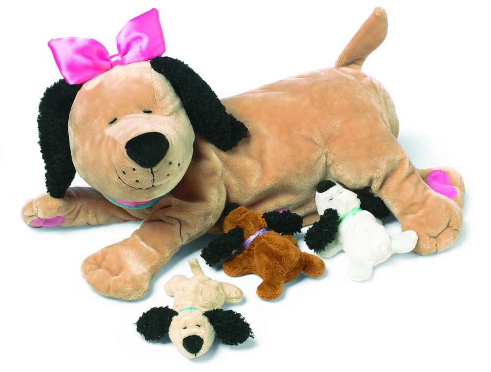 Manhattan Toy Nursing Nana Dog Nurturing Soft Stuffed Animal Toy by Manhattan Toy
