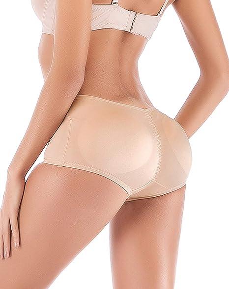 FUT Women Seamless Butt Lifter Padded Butt Hip Enhancer Shaper Panties Underwear