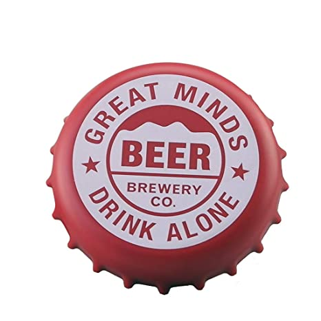 Pleasant Amazon Com Beer Bottle Cap Coaster For Drinks Afus Pcs Alphanode Cool Chair Designs And Ideas Alphanodeonline