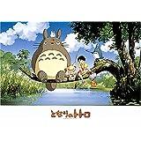 Ensky Mon voisin Totoro Pêche sur arbre puzzle (lot de 500)
