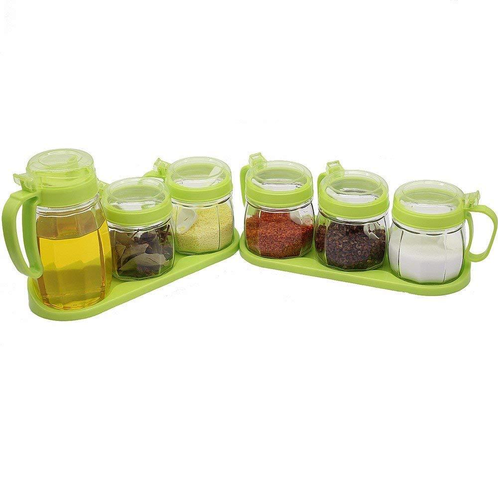 d08e867cafb3 Amazon.com: Kitchen Glass Jar Moisture-Proof Home Multi-Purpose Jam ...
