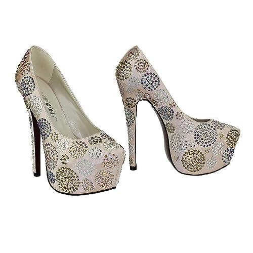 Mujeres Alto Para Funda Tacón Mujer Bailes Zapatos De l1c3TFKJ