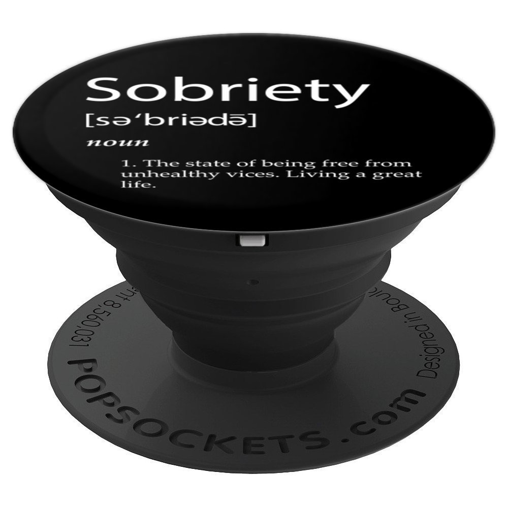 Amazon.com: Sobriety Gifts For Women and Men - Best AA NA Recovery - PopSockets Grip and Stand for Phones and Tablets: Cell Phones & Accessories