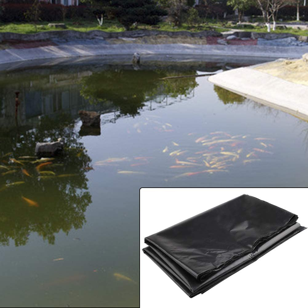 DAMEING Pond Liner Pond Skins Pond Supplies 4.9x6.5 Feet HDPE Pond Products for Koi Ponds Streams Fountains Water Garden