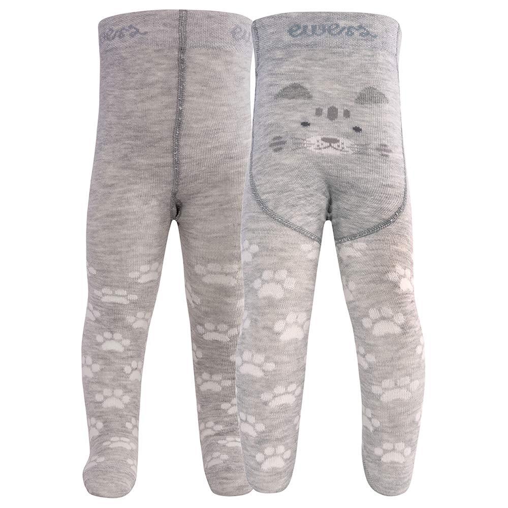 Made in Europe und Kinderstrumpfhose f/ür M/ädchen Katze Pomotiv Ewers Baby Strumpfhose Baumwolle