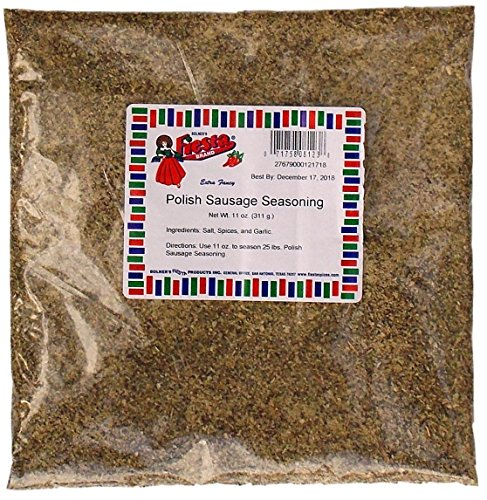Bolner's Fiesta Extra Fancy Polish Sausage Seasoning - Pack of 4, 11 Oz. Ea. by Fiesta