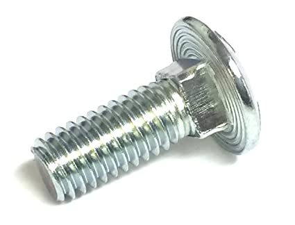 """QTY 25 3//8-16 x 5/"""" Carriage Bolt Hot Dipped Galvanized A307"""