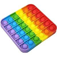 ESSEN Push Pop Pop Bubble Sensory Fidget Toy Pop It Fidget Toy Special Needs Anti Stress Anxiety Reliever Autism Sensory…