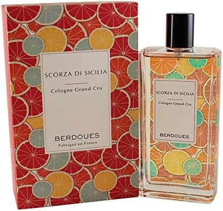 Berdoues Scorza Di Sicilia Cologne Grand Cru for Women, 3.68 Fluid Ounce