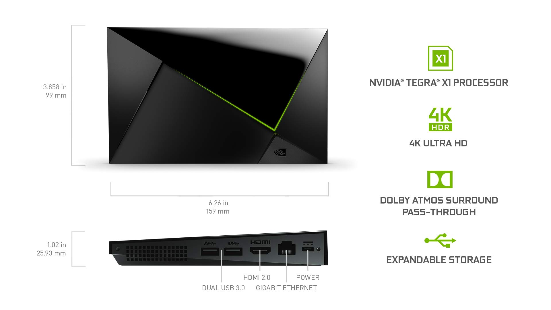 NVIDIA SHIELD TV Gaming Edition | 4K HDR Streaming Media Player with GeForce NOW by NVIDIA (Image #2)