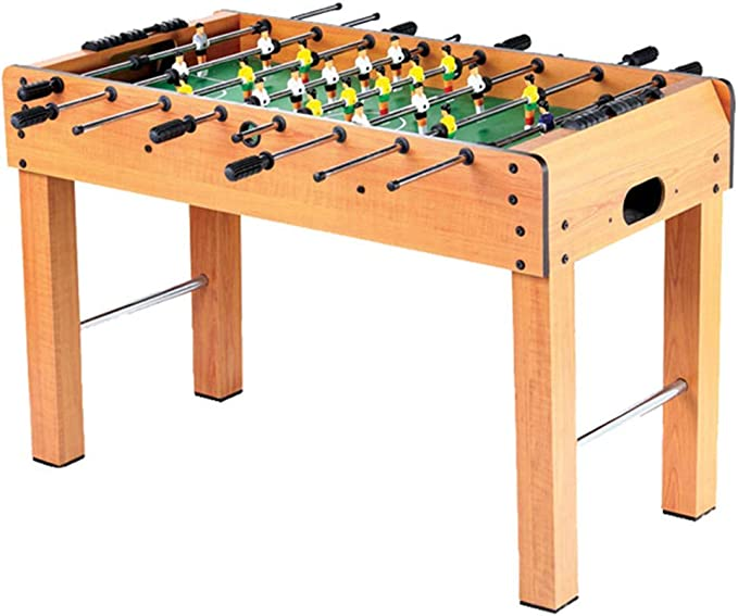 MJ-Games Competición de fútbol de futbolín Juego de Mesa Conjunto de Juegos Deportes con piernas y 8 Clubes [Clase de energía A]: Amazon.es: Hogar