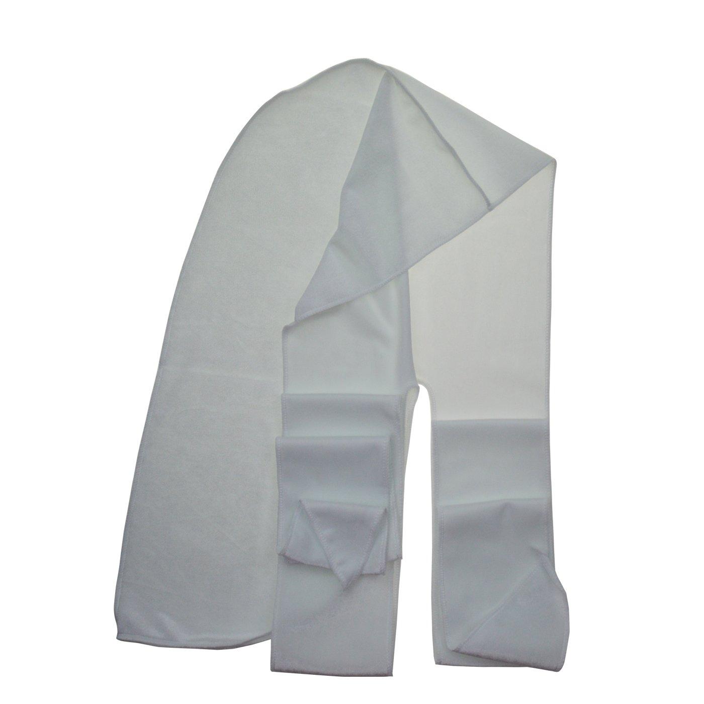 White ASHILISIA Premium Velvet Durag 360, 540,720 540,720 540,720 Waves Extra Long Tail and Wide Straps Outside Seams Triple Stitch for Du-RAG dd8db3