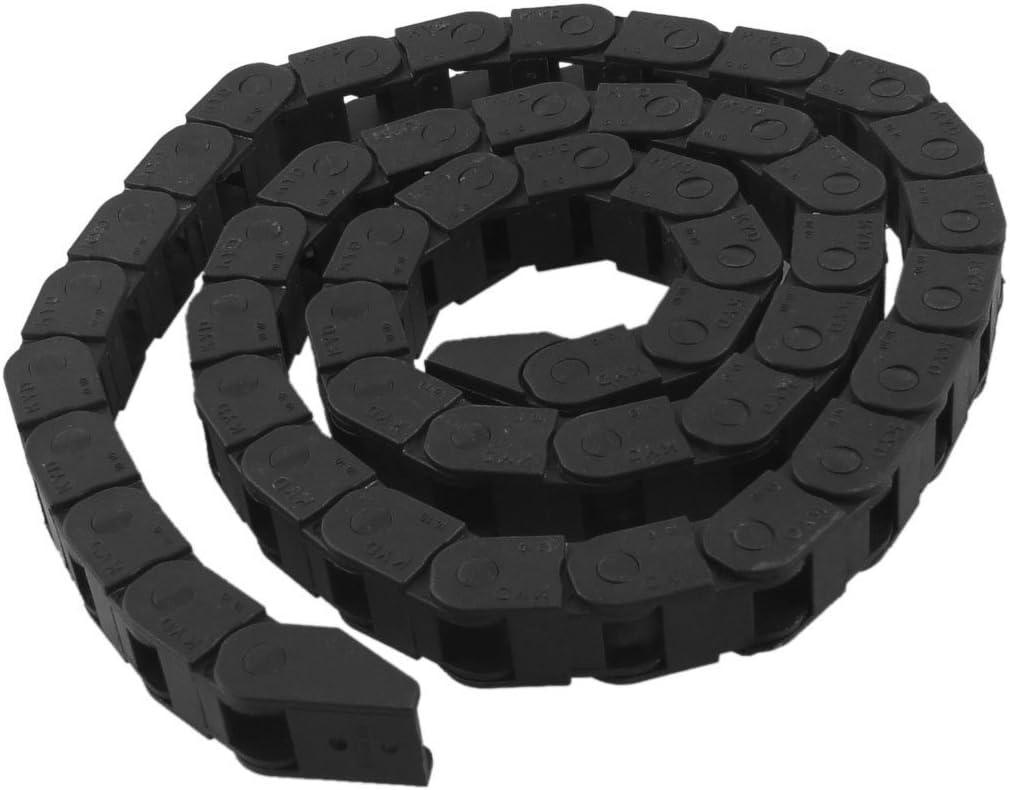 Bluesky 7 x 7.3 MMセミEnclosedタイププラスチックTowlineマシンツールケーブルキャリアドラッグチェーンネストされた 1-Chain