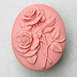 Rose 50328 Craft Art Silicone Soap mold Craft Molds DIY Handmade soap molds