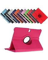 Bralexx - Funda con soporte giratorio para tablet (compatible con: Samsung Galaxy TabPro 8.4 SM-T325, SM-T320, TabPro 10.1 SM-T525 SM-T520, Samsung Galaxy Tab 3 7.0 Lite SM-T110, SM-T111)