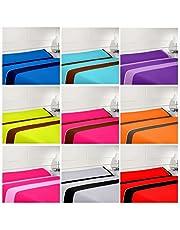 Nice Colors - Juego SABANAS 3 Piezas 100% Microfibra, Fabricado ESPAÑA