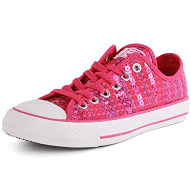 Converse - Allstar Ox Sequin Lace Shoes b1bf1cee24ad