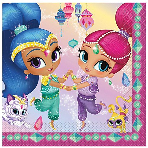 Shimmer Party Napkins - 1