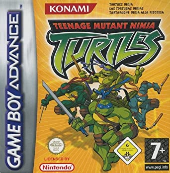 GameBoy Advance - Teenage Mutant Ninja Turtles: Amazon.es ...