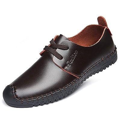 Chaussure En Homme A D'affaire Souple Lacet Basse Cuir Commercial 8wmnvN0