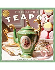 Collectible Teapot & Tea Wall Calendar 2022: 365 days of afternoon tea and delectable treats.