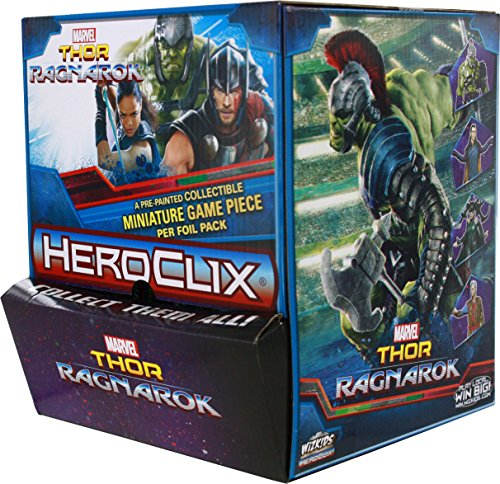 Marvel Heroclix: Thor Ragnarok Gravity Feed Display (24 (Gravity Feed Display)