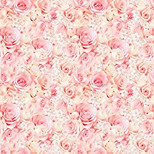 Amazon pink rose wrapping paper 6ft roll health personal care currently unavailable we dont know when or if this item will be back in stock mightylinksfo