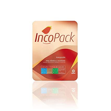 Laboratorio Indas inco Stretch Net Pack de 4 pantalones verde 90 + kg Talla S/