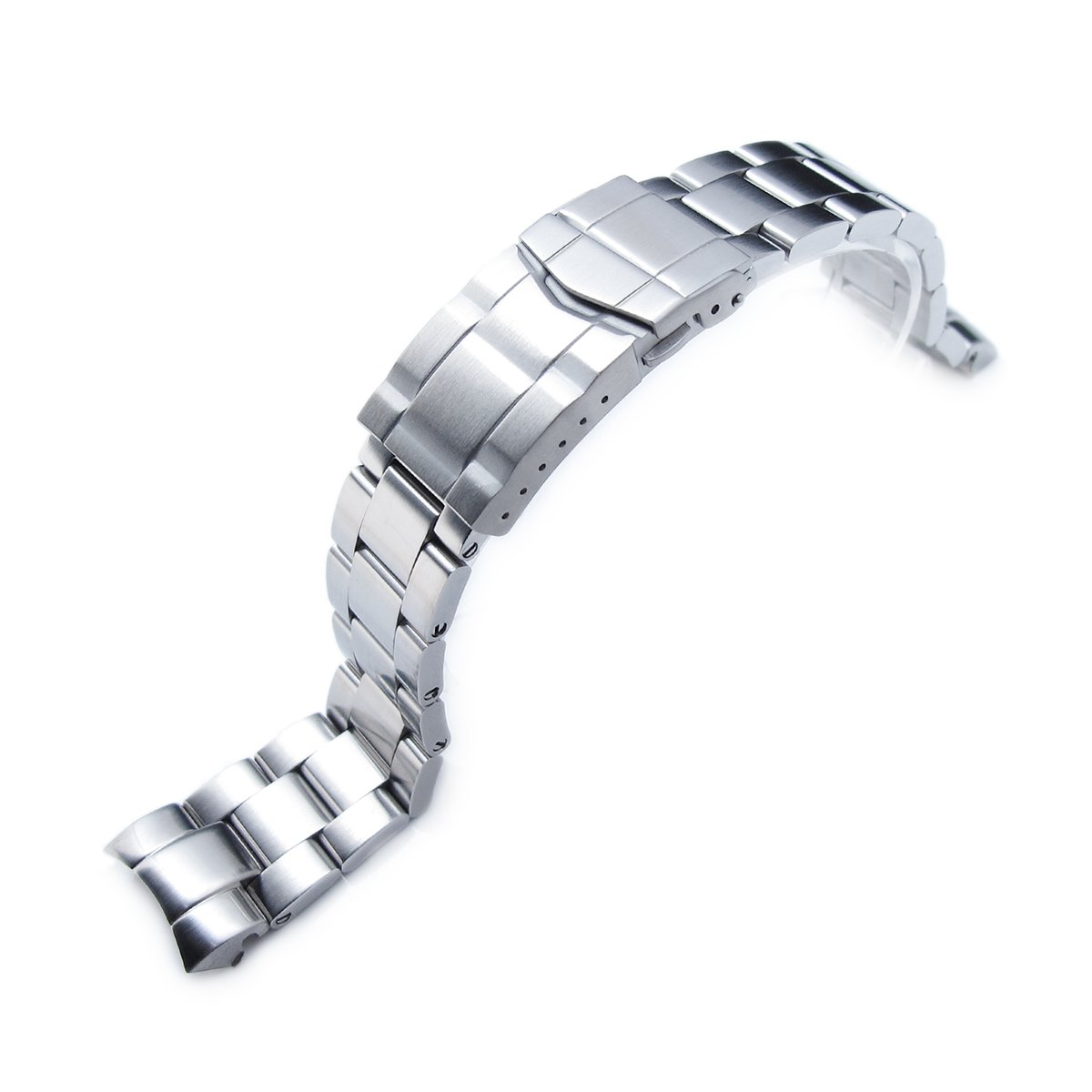 20mm Super Oyster Watch Band for Tudor Tiger 79260, 79270 or 79280, Submariner Clasp by Tudor Replacement by MiLTAT