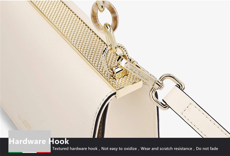 Cbkmz dammode kedja handväska läder handväska temperament axelväska dam Messenger Bag Vit