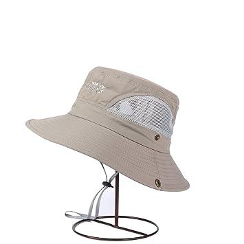Sunny Sombrero para El Sol Verano Hombre Protección Solar Turismo Algodón Pescador  Sombrero (Color   06285b6fbba0